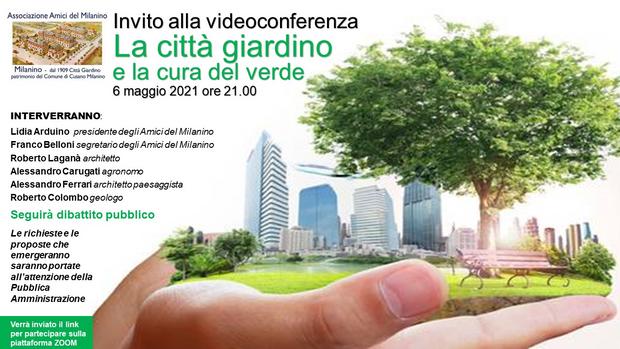 La città giardino e la cura del verde  ( interventi)