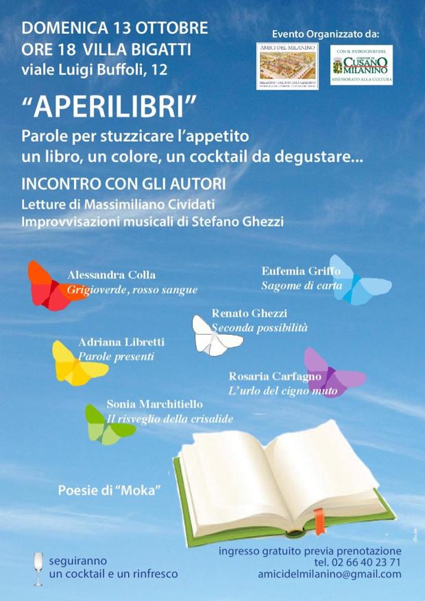 """Evento """"Aperilibri"""" del 13 ottobre 2019"""