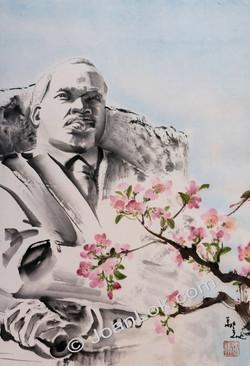 Spring arrives at MLK
