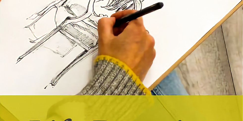 Life Drawing with Dwayne Beckford: Pens