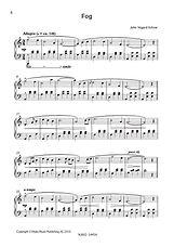 John Vegard Schow - FOG - Sheet Music