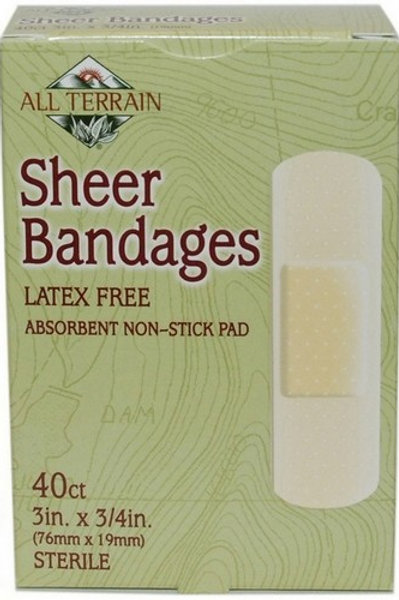 Sheer Bandages