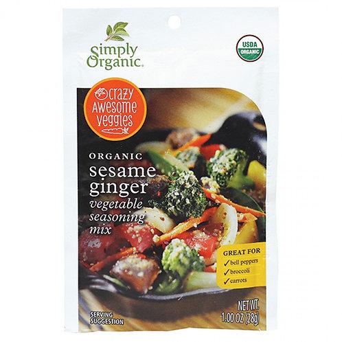 Organic Sesame Ginger Veggie Mix