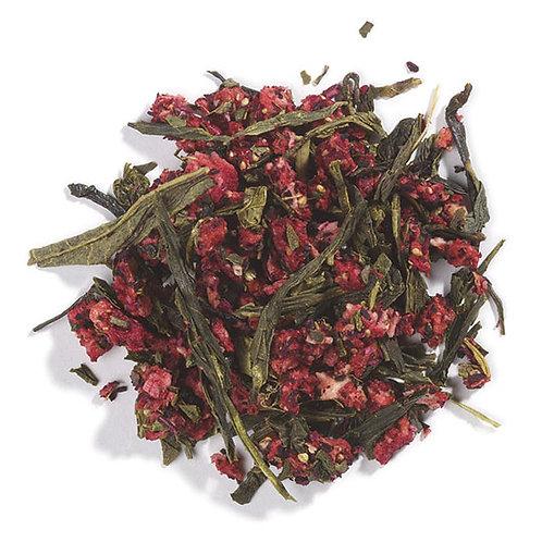 Strawberry Green Tea, Organic