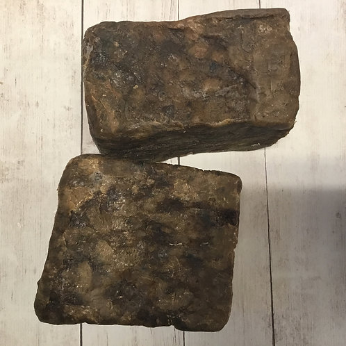 African Black Soap, 1/2 pound