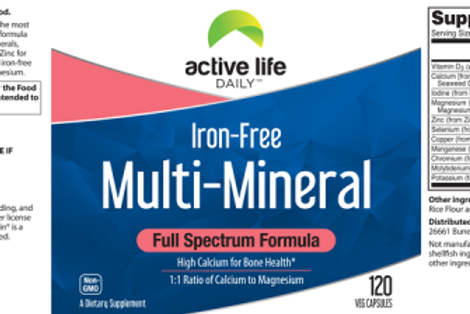 Multi-mineral Supplement