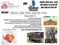 Second Annual #Pedal4Charity Week