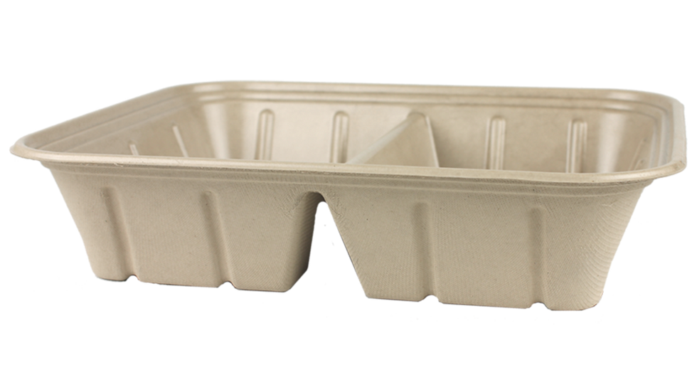 112 ounce 2 Compartment Catering Pan