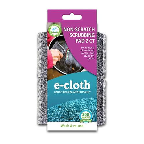 eCloth Non-Scratch Scrubbing Pads 2 Pack