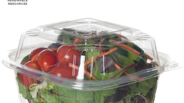 Compostable Small Clamshell Box