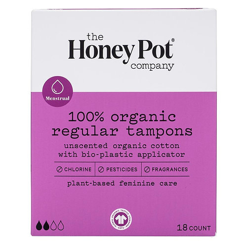 The Honey Pot Tampons Regular