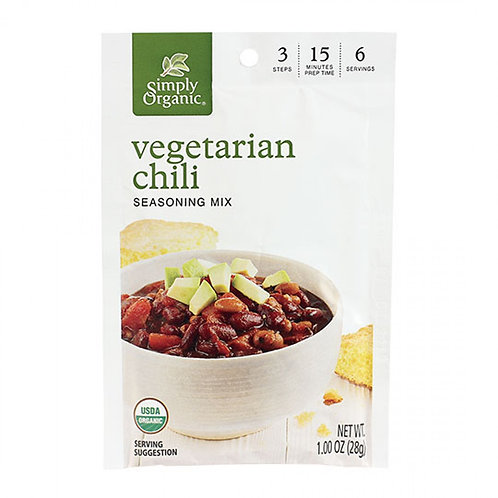 Organic Vegetarian Chili Mix