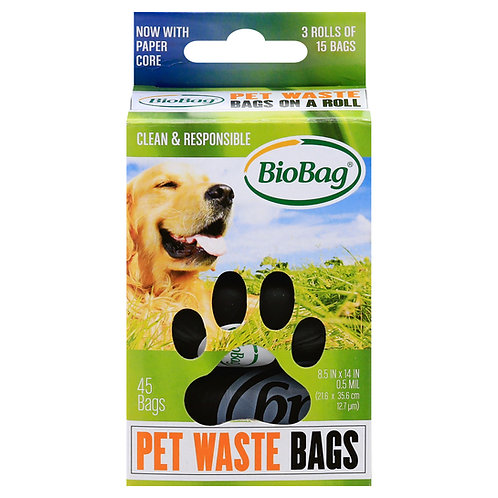 Compostable Pet Waste Bags (Rolled)