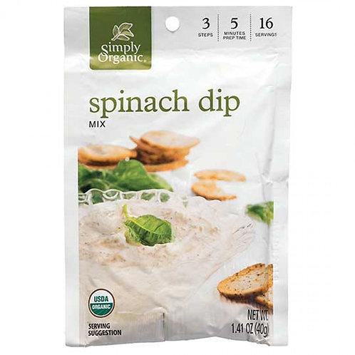 Organic Spinach Dip Mix