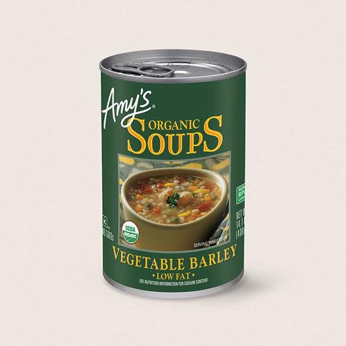 Organic Vegetable Barley Soup
