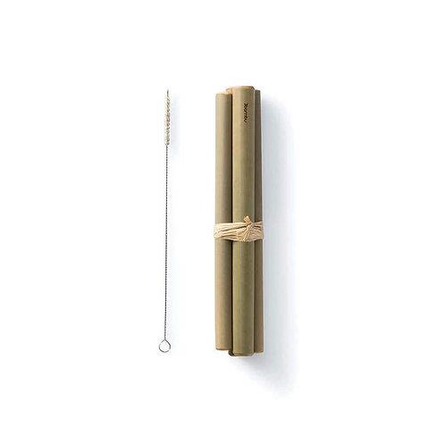 Bamboo Reusable Straws, Jumbo