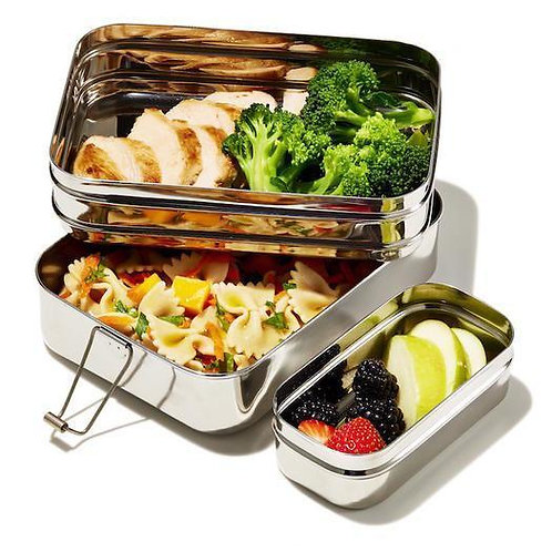 Large Stainless Steel Lunch Box