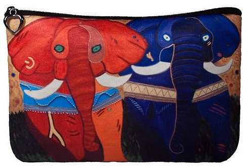 'Pride' Elephant Cosmetic Bag