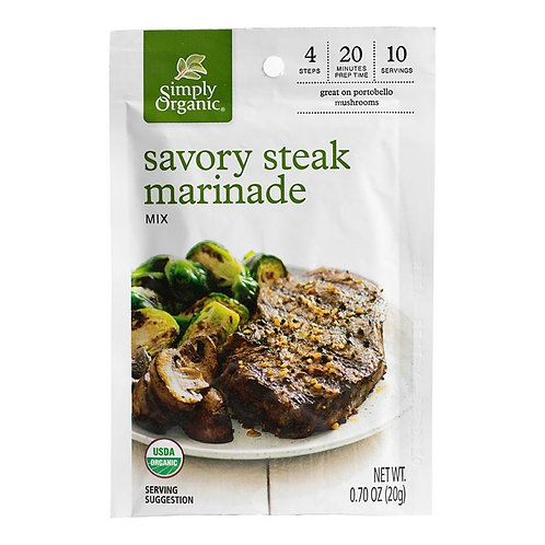 Organic Steak Marinade Mix
