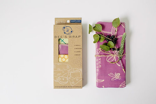 Beeswrap Food Wraps Variety Starter Pack