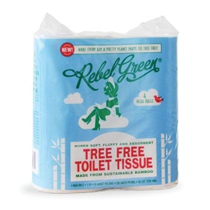 Rebel Green Tree-Free Toilet Tissue