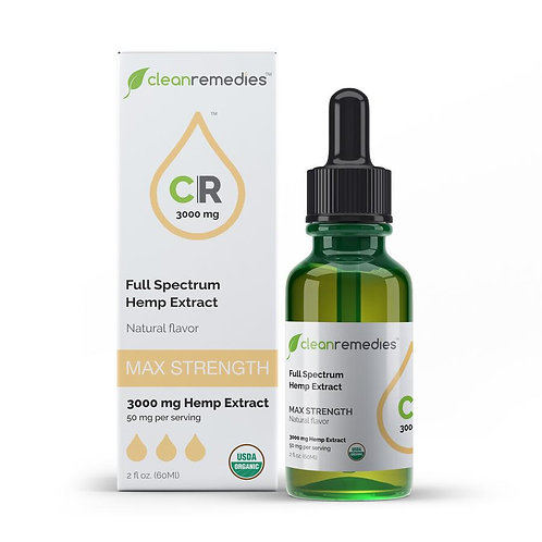 CBD Hemp Oil - Full Spectrum