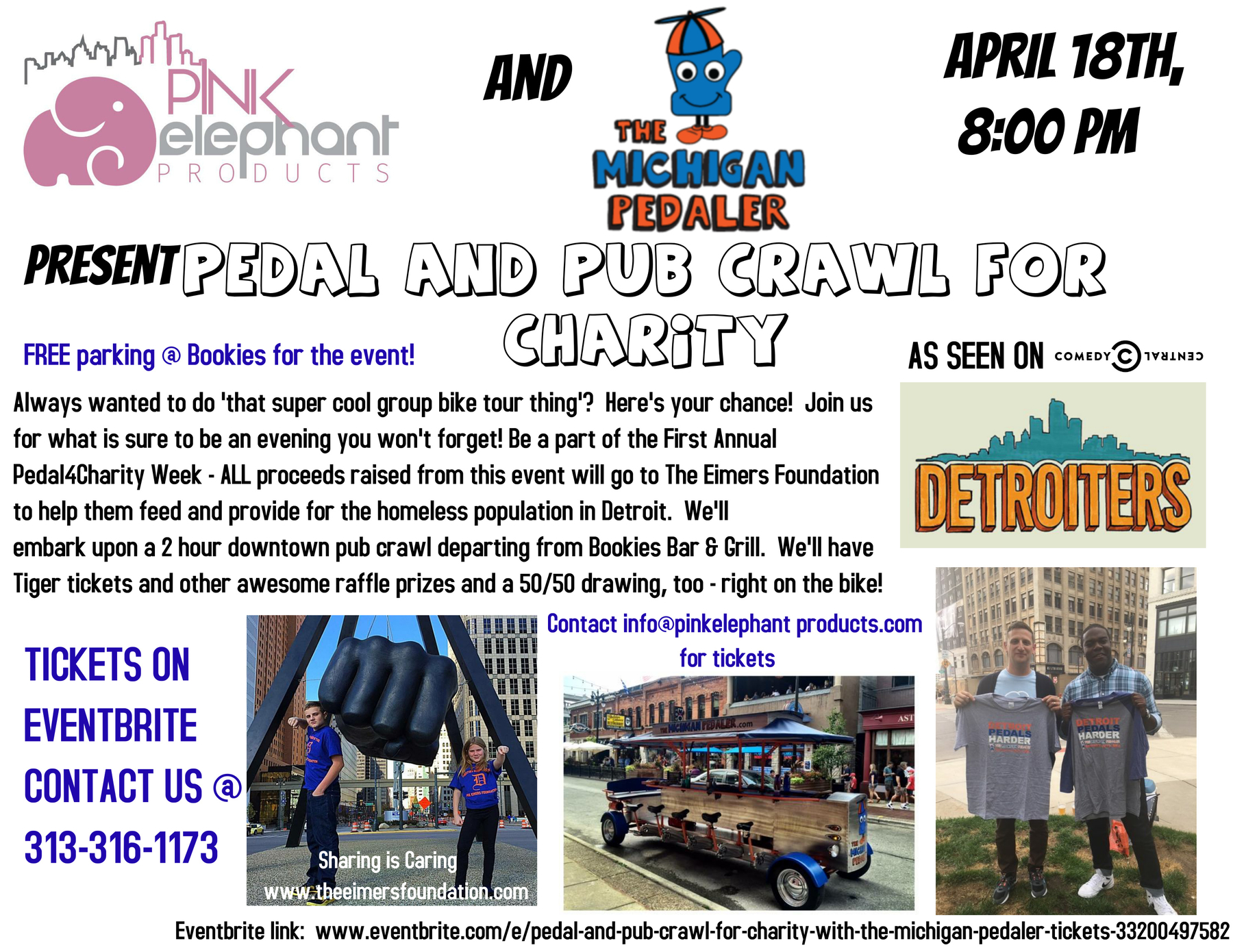 First Annual #Pedal4Charity Week