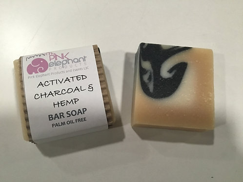 Bar Soap - Hemp Activated Charcoal