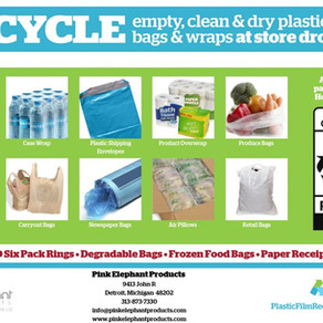Help Us Keep Our Plastic Bags & Film Recycling Program Affordable and Sustainable!
