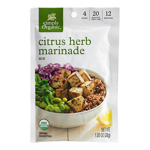 Organic Citrus Herb Marinade
