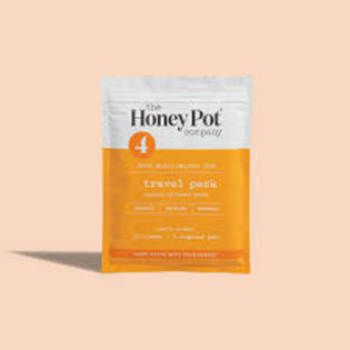 Honey Pot Feminine Wipes Travel Size- Normal