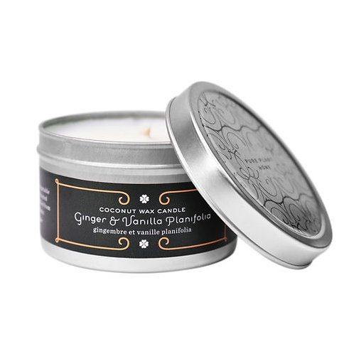 Coconut Wax Candle Tins, 4.4 ounce