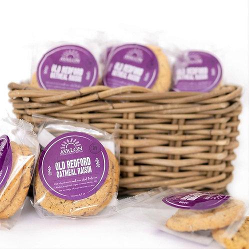 Old Redford (Vegan) Oatmeal Raisin Cookies