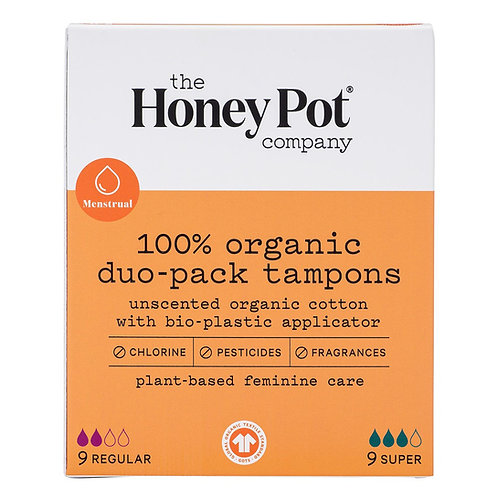 The Honey Pot Tampons Duo Pack