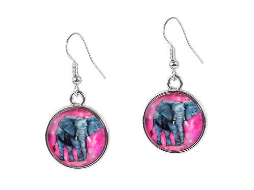 Earrings 'Kelly' Elephant