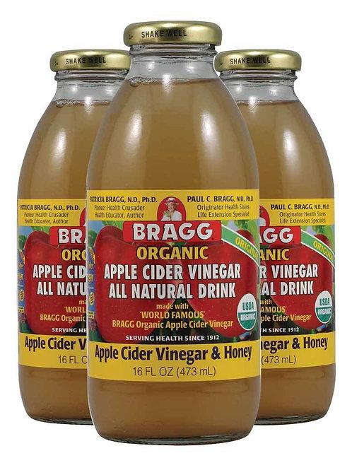 Apple Cider Vinegar & Honey Drink