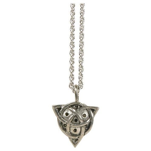 Diffuser Necklace, Celtic Pendant-MADE IN THE USA
