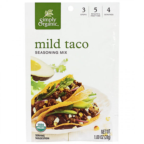 Organic Mild Taco Seasoning Mix