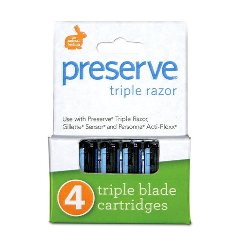 Recycled Razors 4 Refill Blades