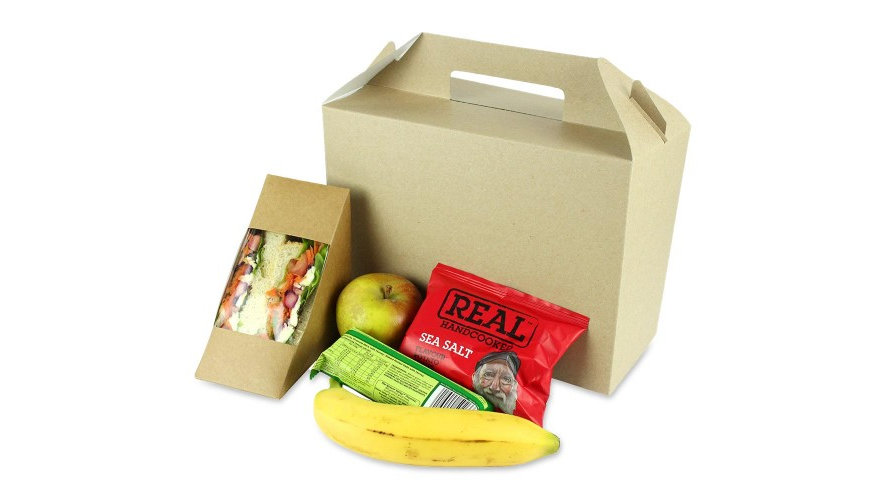 Boxed Lunch with Handles