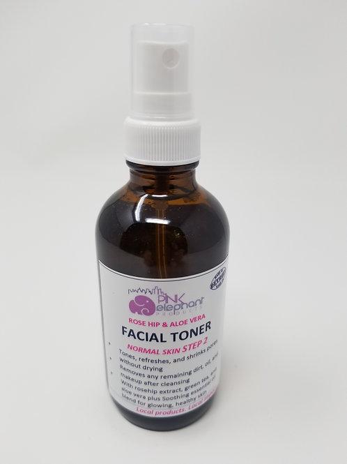 Rose Hip & AloeVera Facial Toner for Normal Skin