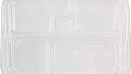 Compostable Lids for Bento Boxes