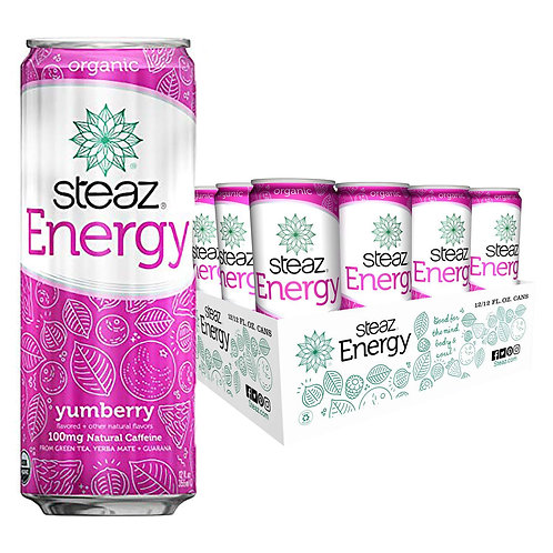 Steaz Organic Energy Drinks