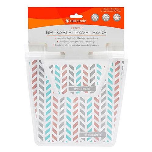 Reusable Travel Bags Set of 2