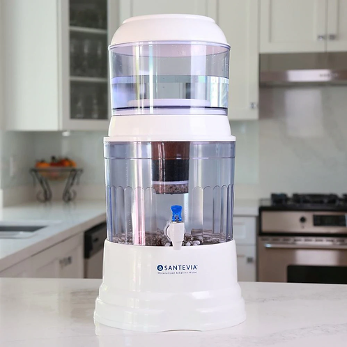 Countertop Alkaline Water Dispenser with Fluoride Filter