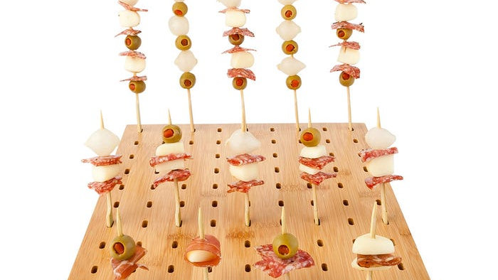 Bamboo Pick Stand/Skewer Holder