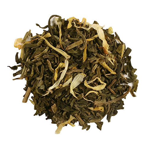 Mango Green Tea, CO2 Decaffeinated, Organic/Fair Trade