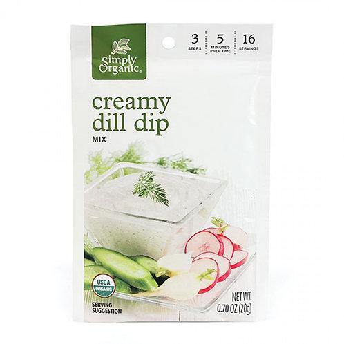 Organic Creamy Dill Dip Mix