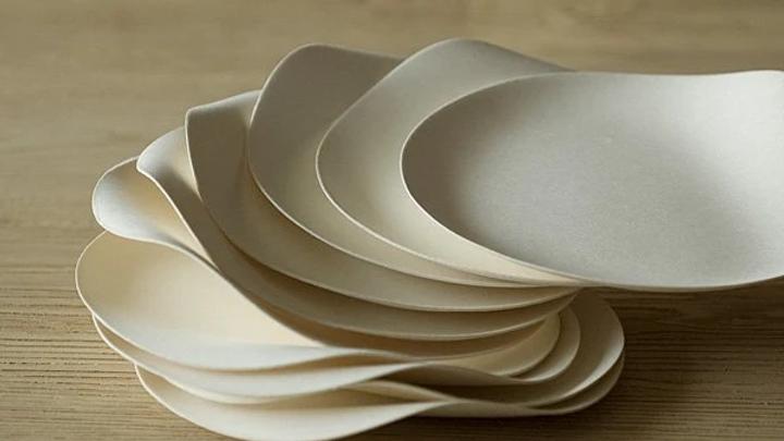 Wasara Round Plates