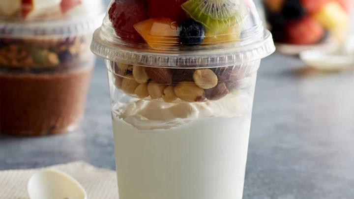 Yogurt Parfait/Veggies and Dip Cups